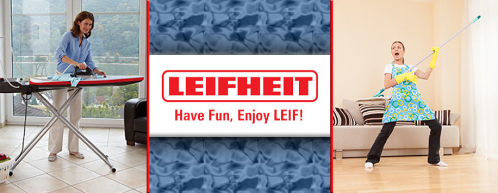 Uz Leifheit čišćenje je zabava